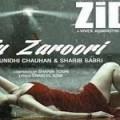Tu Zaroori Guitar Chords Zid, Sunidhi Chauhan Sharib-Toshi