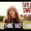 Everything Has Changed Guitar Chords Taylor Swift ft Ed Sheeran
