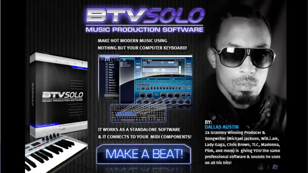 Best Beat Making Software-BTV Solo Software Review Features Advantages