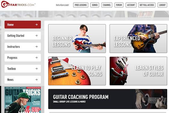 Guitar Tricks Best Online Guitar Lessons