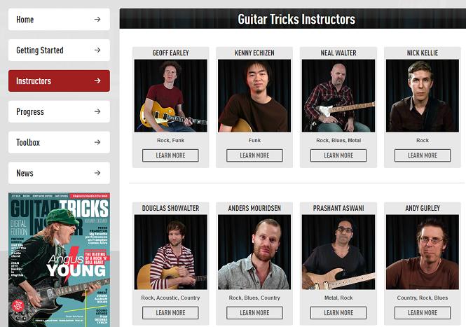 Guitar Tricks Instructors